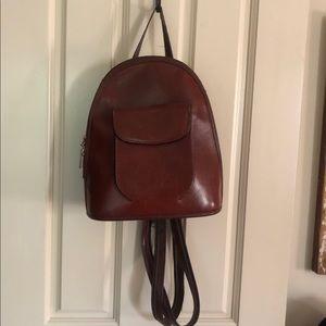 Vintage leather Backpack